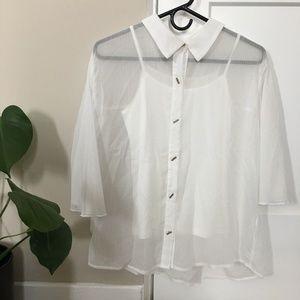 white top blouse